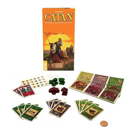 Juego de mesa catan ciudades y caballeros ampliaci n 5 6 jugadores juegos de mesa y cartas - Catan juego de mesa ...