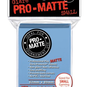 Ultra Pro Non-Glare Pro-Matte Small 60 Count Lime Green Sleeves