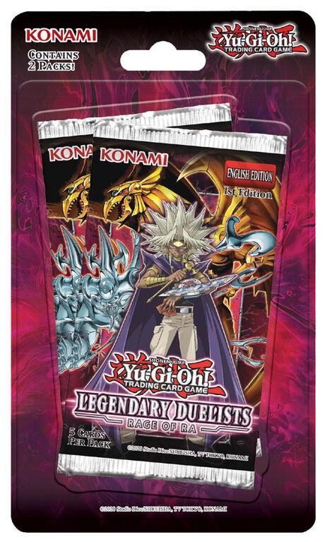 Yugioh Legendary Duelist Rage Of Ra Booster Pack
